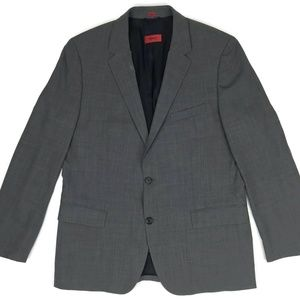 Hugo Boss Suit Jacket Men's Sz 44R Gray Blazer Men